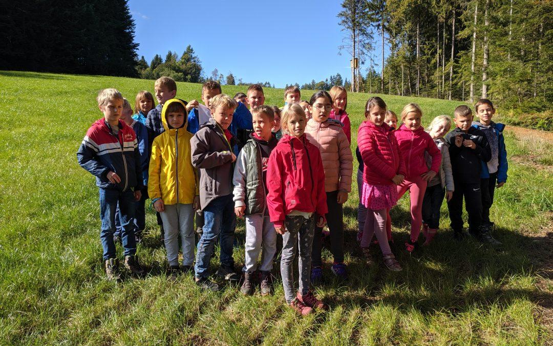Še nekaj utrinkov s tabora četrtošolcev na Kozjaku